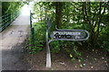 NZ4719 : Signpost at the Tees Newport Bridge by Ian S