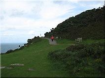 SS7049 : Rest at the foot of Jack-Lynton, North Devon by Martin Richard Phelan