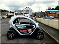 H4472 : Pizza delivery car, Omagh by Kenneth  Allen