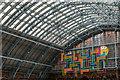 TQ3082 : St Pancras International Station, London N1 by Christine Matthews