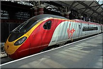 "SJ3590 : Virgin Class 390, 390047 ""CLIC Sargent"", Liverpool Lime Street railway station by El Pollock"