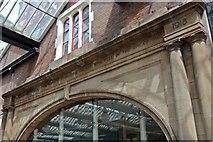 SJ8745 : In Memoriam, Stoke-on-Trent railway station by El Pollock