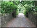 SE0635 : Footpath - Keighley Road by Betty Longbottom