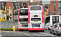 J3573 : Bus lane, Albertbridge Road (EWAY) - June 2014(2) by Albert Bridge