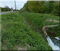 TF1313 : Drainage ditch along Langtoft Outgang Road by Mat Fascione
