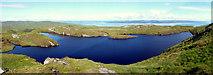 NR6593 : Loch Carn nan Gillean by Brian Turner