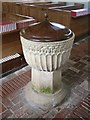 SP7210 : Chearsley - St Nicholas - Early C13th font by Rob Farrow