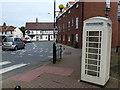 TA0339 : Cream telephone box near Beverley Minster by Richard Humphrey