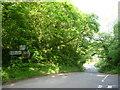 NT5972 : Rural East Lothian : Papple Bridge Road Junction by Richard West