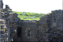 NS2515 : Dunure Car Park from the Castle by Billy McCrorie