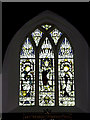 TM4077 : Stained Glass Window of St. Peter's Church by Geographer