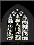 TM4077 : Stained Glass Window of St. Peter's Church by Adrian Cable