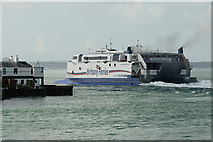 SZ6299 : Departing from Portsmouth Harbour by Peter Trimming