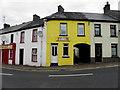G8839 : Corner houses, Manorhamilton by Kenneth  Allen
