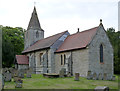 SK7160 : Church of St Radegund, Maplebeck by Alan Murray-Rust