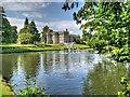SD5718 : Lake and Hall, Astley Park by David Dixon