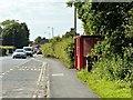 SD5618 : Bus Stop on Balshaw Lane (A581) by David Dixon