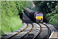 SJ3153 : EWS Class 66, 66100, approaching Gwersyllt railway station by El Pollock