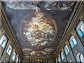 TQ3877 : Painted Ceiling, Royal Naval College, Greenwich by Christine Matthews