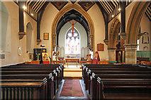 TQ2792 : St James the Great, Friern Barnet Lane, now St Katherine's Greek Orthodox Church - East end by John Salmon