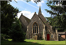 TQ2792 : St James the Great, Friern Barnet Lane, now St Katherine's Greek Orthodox Church by John Salmon
