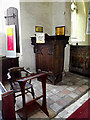 TM4280 : Pulpit of St.Andrew's Church by Adrian Cable