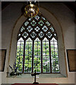 TM4280 : Stained Glass Window of St.Andrew's Church by Adrian Cable