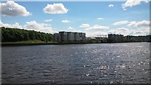 NZ2462 : Apartments on the south bank of the Tyne, Gateshead by Graham Robson