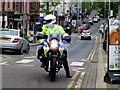 H4572 : Police motorcyclist, Omagh by Kenneth  Allen