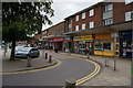 SE8908 : Shops on The Broadway, Ashby High Street by Ian S
