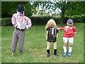 TQ7237 : England footballer and his WAG by Marathon