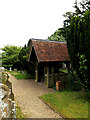 TM3973 : Lych Gate at St. Andrew's Church by Adrian Cable