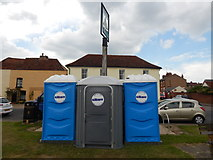 TM0321 : Toilets in Rowhedge, East Donyland by Hamish Griffin
