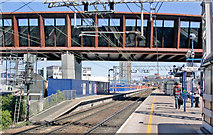 TQ3884 : Stratford Regional Station in transformation, 2010 by Ben Brooksbank