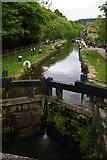 SD9927 : Black Pit Lock, Rochdale Canal, Hebden Bridge by Christopher Hilton