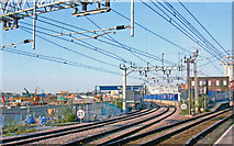 TQ3884 : Stratford Regional Station in transformation, 2008 by Ben Brooksbank