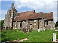 TR0325 : St. Clement's, Old Romney by Chris Whippet