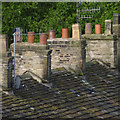 SK0181 : Stacks and stone slates by Alan Murray-Rust