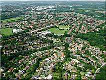 SJ8587 : Cheadle from the air by Thomas Nugent