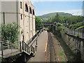 SS9992 : Tonypandy (& Trealaw) railway station, Rhondda Cynon Taf by Nigel Thompson