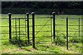 SP6604 : Kissing gate on the Oxfordshire Way by Steve Daniels