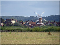 TG0444 : The village of Cley Next The Sea by Pauline E