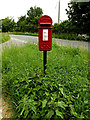 TL9356 : Rookery Farm George V Postbox by Geographer