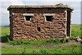 SZ5678 : Pillbox on St Boniface Down by Philip Halling