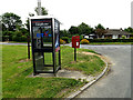 TL9155 : Telephone Box & Great Green Postbox by Adrian Cable
