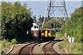 SJ3169 : Passing Dee Marsh Junction signal box, Hawarden Bridge by El Pollock