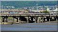 J3675 : Harbour lagoon, Belfast - June 2014(2) by Albert Bridge