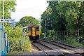 SJ2961 : Arriva Trains Wales Class 150, 150250, Pen-y-ffordd railway station by El Pollock