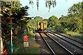 SJ3058 : Arriva Trains Wales Class 150, 150282, Hope railway station by El Pollock