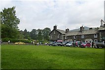 NY3307 : Village Green by DS Pugh